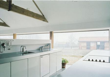 cocina granja minimalista