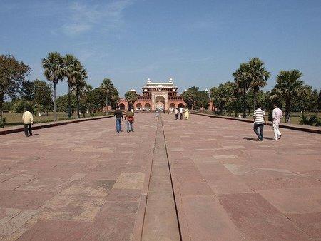 """El mausoleo de Akbar """"el Grande"""" en Sikandra"""
