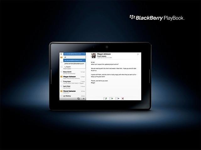 Foto de BlackBerry PlayBook, presentación oficial del tablet de RIM (4/11)