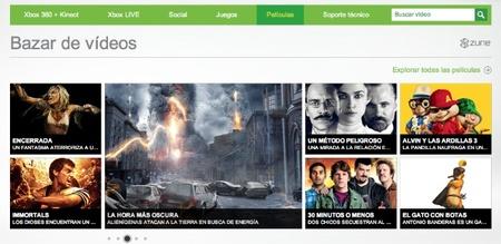Bazar vídeos Xbox