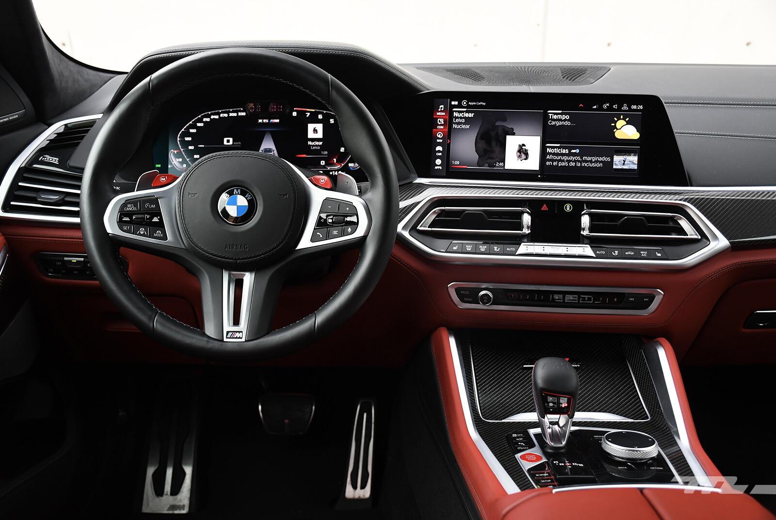 Foto de BMW X6 M Competition 2021 (prueba) (20/27)