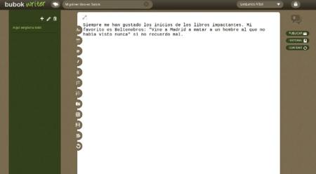 BubokWriter, nuevo editor gratuito de libros electrónicos en formato ePub