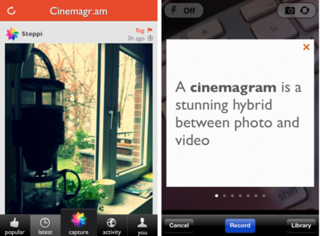 Cinemagram camino de Android