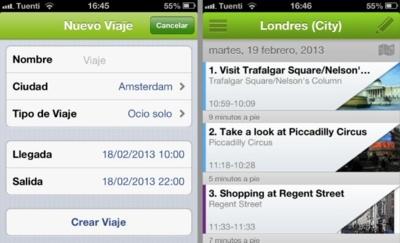 Triporg, planifica tu ruta automáticamente cuando hagas turismo en una ciudad