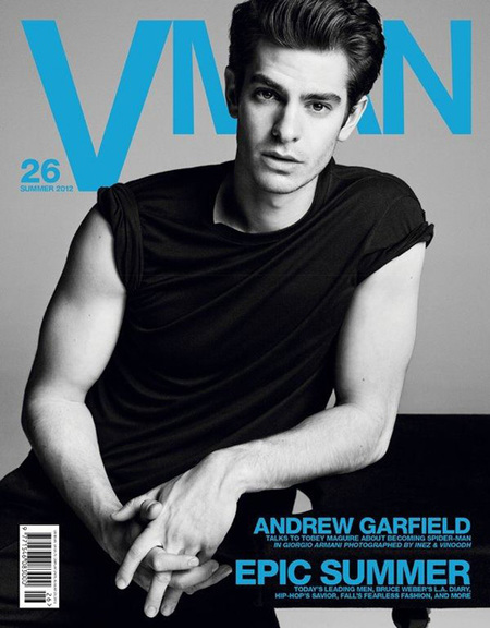 Andrew Garfield, VMan July 2012