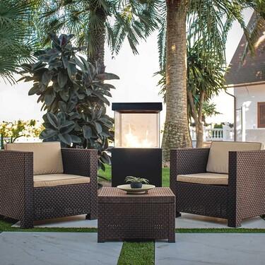 Tres conjuntos de muebles de exterior para la terraza o jardín que fichamos con descuento en Leroy Merlin para transformar tus espacios