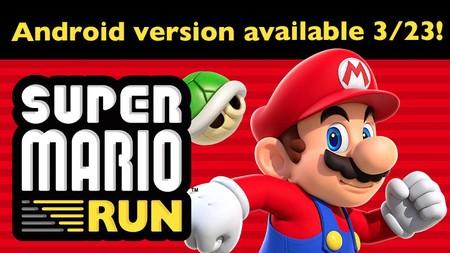 Super Mario Run llegará, por fin, a Android el 23 de marzo