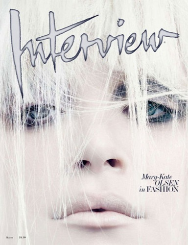 Todas las imágenes del editorial de Mary-Kate Olsen para Interview