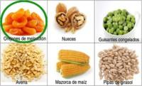 Solución a la adivinanza: el alimento con más fibra es el orejón de melocotón
