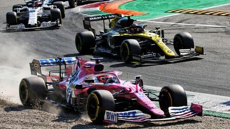 Sergio Perez Monza F1 2020