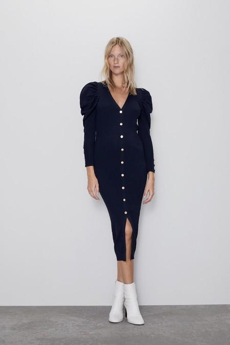 Como Combinar Un Vestido Azul Marino 4