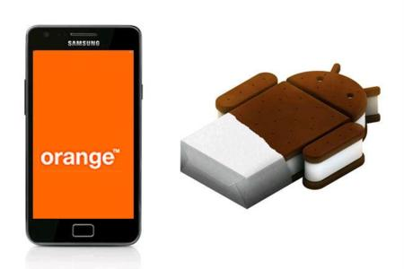 Ya disponible la actualización a Ice Cream Sandwich del Samsung Galaxy SII con Orange