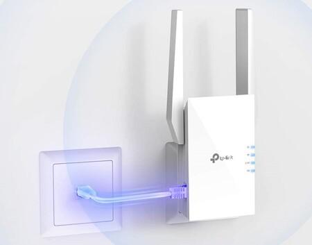 Más señal inalámbrica con el repetidor Wi-Fi 6 de última generación TP-Link RE505X AX1500, de oferta flash en Amazon a 58,99 euros