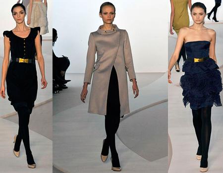 Valentino en la Semana de la Moda de Paris otoño/invierno 2008/2009