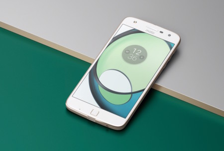 Moto Z Play Front Life