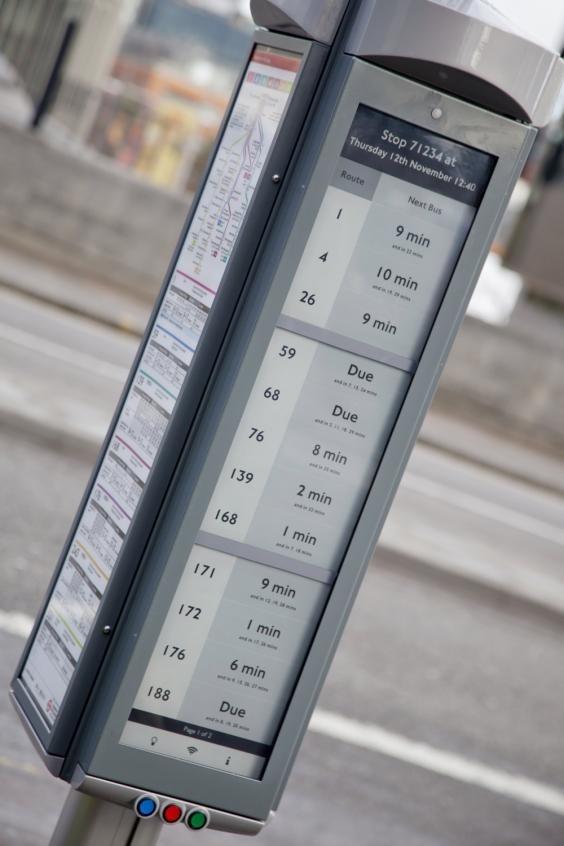 E Ink Solar Bus Stop 01