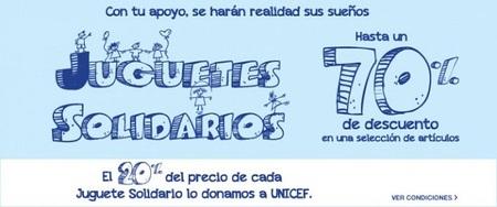 Compra con descuentos de hasta el 70% en la sección de 'juguetes solidarios' de El Corte Inglés