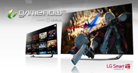 LG contará con el juego online GameNow en sus televisores