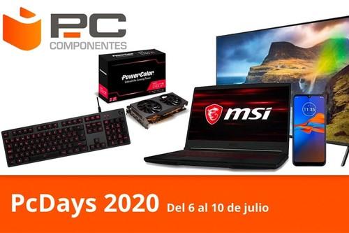 Las ofertas del día en los PcDays 2020 de PcComponentes: smart TVs Samsung, portátiles gaming MSI o HP, tarjetas gráficas Radeon o monitores LG a los mejores precios