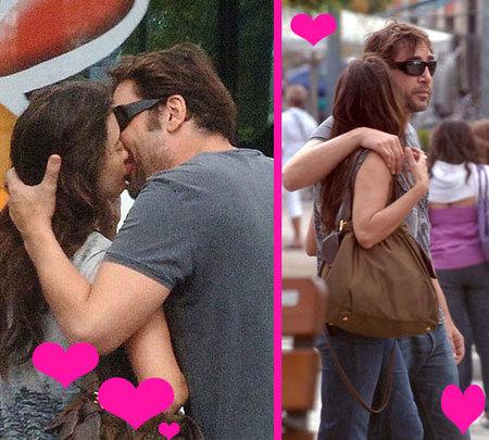 Penélope Cruz y Javier Bardem también se ponen cariñosos...