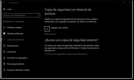 Copia De Seguridad Con Historial De Archivos