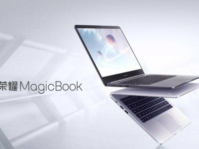 El Honor MagicBook es la otra apuesta de Huawei en portátiles, todo un Core i7 por menos de 750 euros
