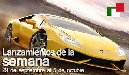 Lanzamientos de la semana en México del 29 de septiembre al 5 de octubre