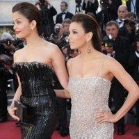 Eva Longoria y Aishwarya Rai atacan de nuevo en Cannes: alfombra roja estreno On Tour