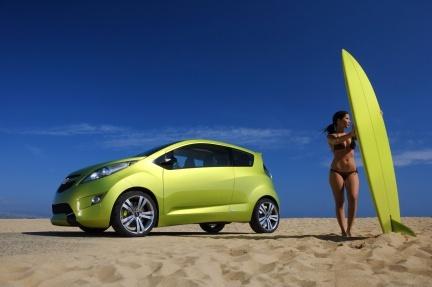 Chevrolet Beat, el elegido por el público para pasar a la cadena de montaje