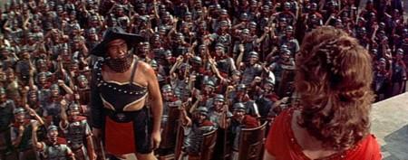 Añorando estrenos: 'Demetrius y los gladiadores' de Delmer Daves