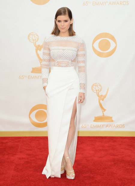 Kate Mara sandalias Emmy 2013