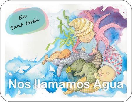 """""""Me llamo Agua"""", un libro solidario con la infancia"""
