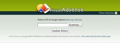 VisualAdsense, los informes de Google Adsense interpretados de forma gráfica