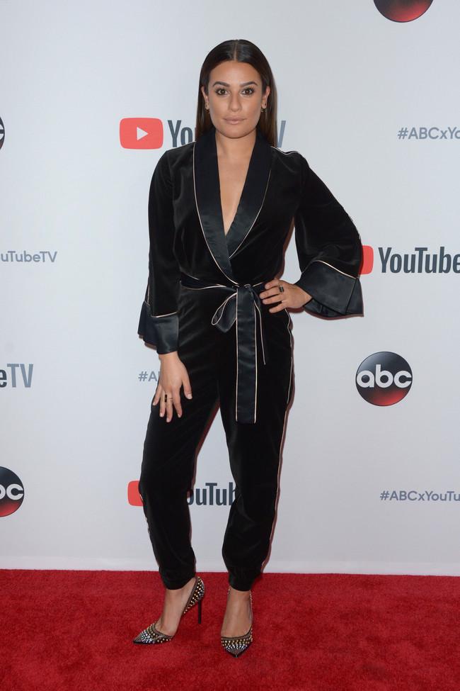 lea michele look estilismo outfit