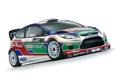 Ford desvela la nueva decoración de su Fiesta WRC
