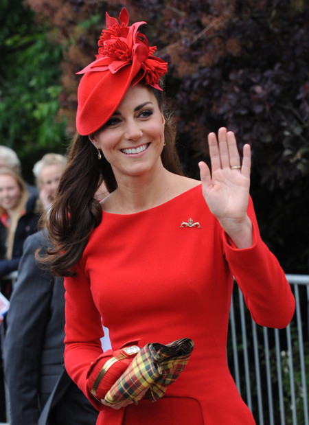 Kate Middleton Sylvia Fletcher look