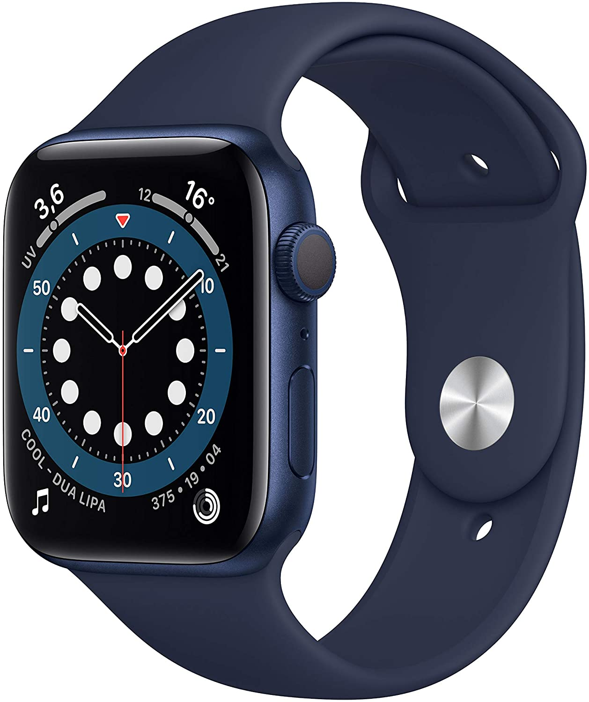 Apple Watch Series 6 GPS 44mm Caja Aluminio Azul Correa deportiva Azul Marino