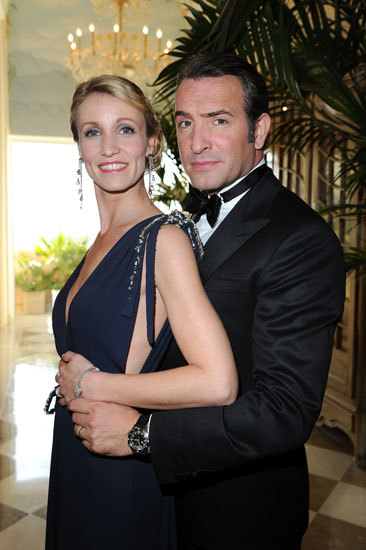 Alexandra Lamy wearing Joaillerie 1960 at Oscars 2012