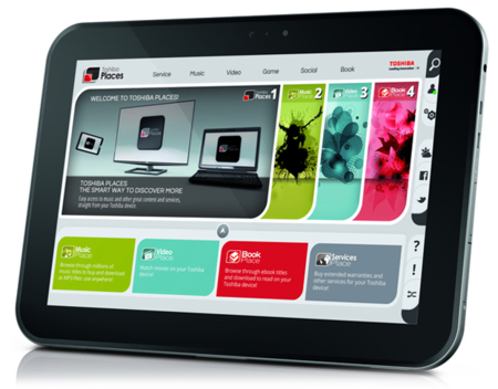 Toshiba AT300, nueva tablet con Ice Cream Sandwich y Nvidia Tegra 3