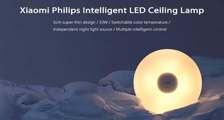 Lámpara LED Xiaomi Ceiling Lamp por 82,15 euros con este código de descuento