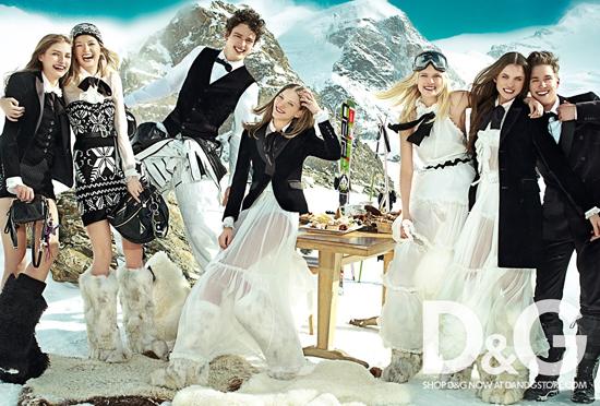Foto de Campaña de D&G para el Otoño-Invierno 2010/2011 (3/4)