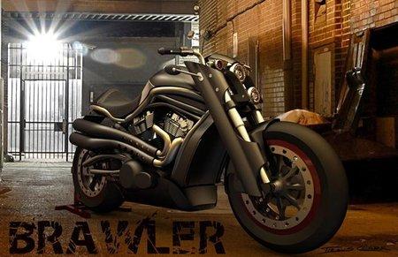 Brawler, rejuvenecemos la Harley Davidson V-Rod