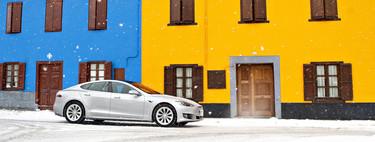 Probamos el Tesla Model S 100D, el único coche eléctrico con 500 km de autonomía y aceleración de Panamera
