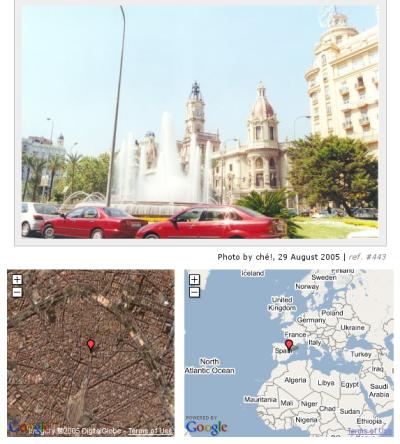 Panoramio, combinando Google Maps y fotografías