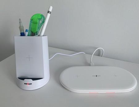Pensados para el hogar y la oficina: así son los cargadores inalámbricos para iPhone de miniBatt