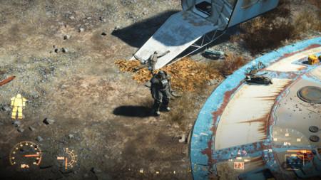 Un truquito de cámara... y Fallout 4 parece Fallout 1