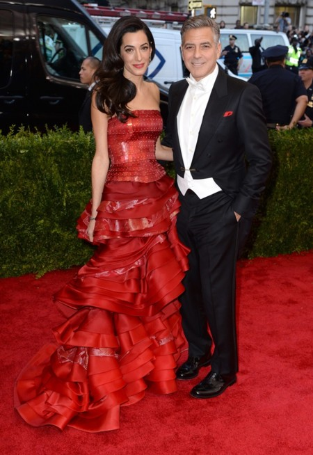 Gorge y Amal Clooney
