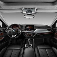 BMW Serie 1 Sedán: Primer imagen del interior del sedán más pequeño de BMW