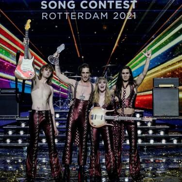 Los italianos Måneskin ganan Eurovision vestidos de Etro y con un estilo 100% glam rock
