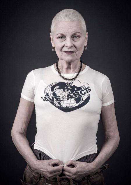 Vivienne Westwood combate el cambio climático con una camiseta edición limitada